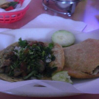 Photo taken at Taquería Guadalajara by Ray N. on 12/22/2011