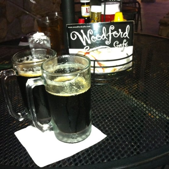 Photo taken at Woodford Café by Michael R. on 10/6/2011