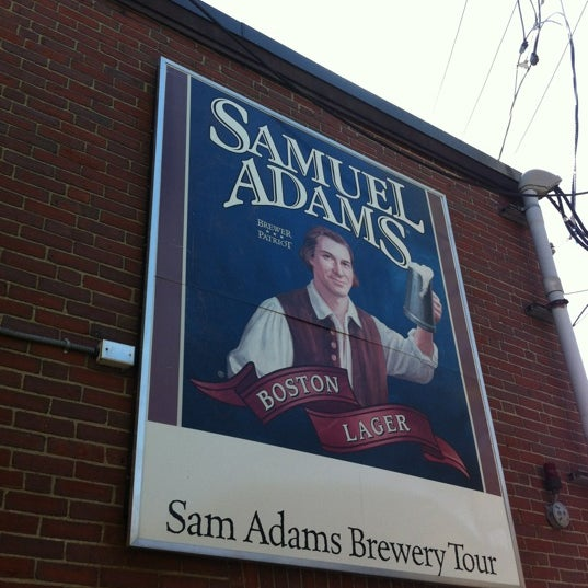 Photo taken at Samuel Adams Brewery by Nick S. on 4/17/2012