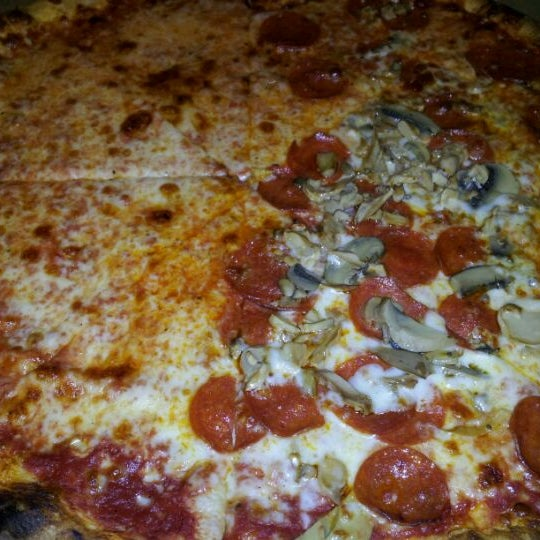 Photo taken at Toby's Original Little Italy Pizza by David L. on 2/25/2012
