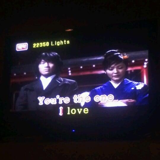 Photo taken at Chorus Karaoke and Cafe by Jen on 8/15/2012