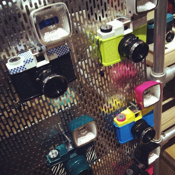 Photo taken at Lomography Gallery Store Austin by Paula W. on 3/11/2012