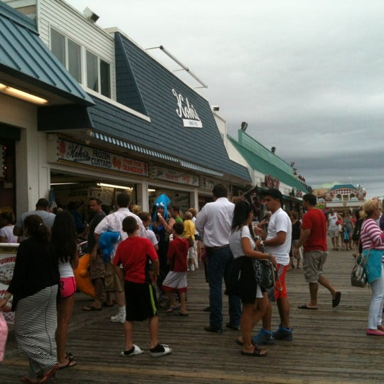 Photo taken at Point Pleasant Beach Boardwalk by Sophy B. on 9/3/2012