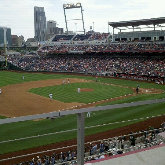 Photo taken at TD Ameritrade Park by Kevin R. on 6/15/2012