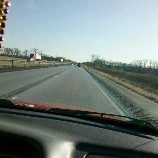 Photo taken at I-35 by Kristin P. on 11/10/2011