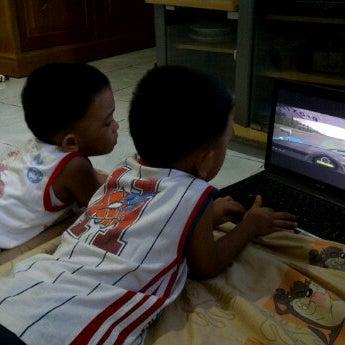 Photo taken at Ruangan Santai ( N0nt0n TV ) by Noy Z. on 2/26/2012
