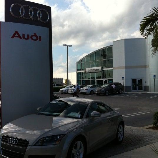 Audi West Palm Beach Okeechobee Blvd - Braman audi