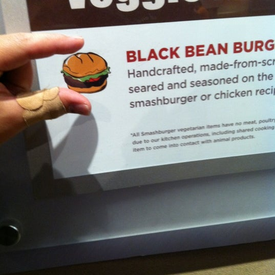Photo taken at Smashburger by Bucky F. on 12/4/2011