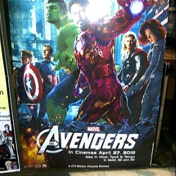 Photo taken at Big Cinemas by Rajesh M. on 5/6/2012