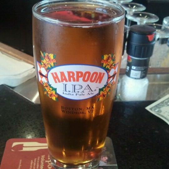 Photo taken at Harpoon Tap Room by tara d. on 8/20/2011