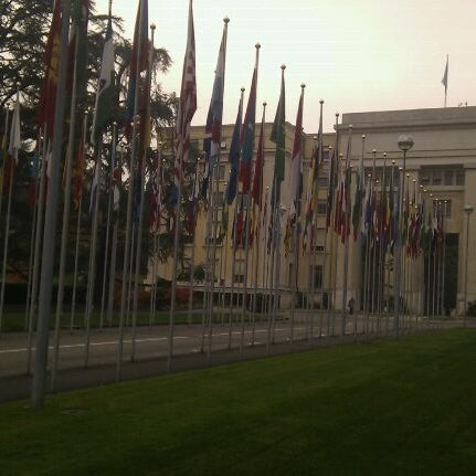 Photo taken at Palais des Nations by Carlo V. on 11/1/2011