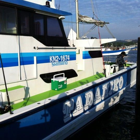 10/29/2011にKitsui T.が金沢八景 忠彦丸 釣船・釣宿で撮った写真