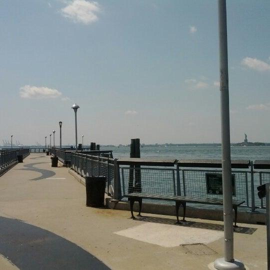 Photo taken at Louis Valentino Jr Park & Pier by Tonton F. on 7/4/2012