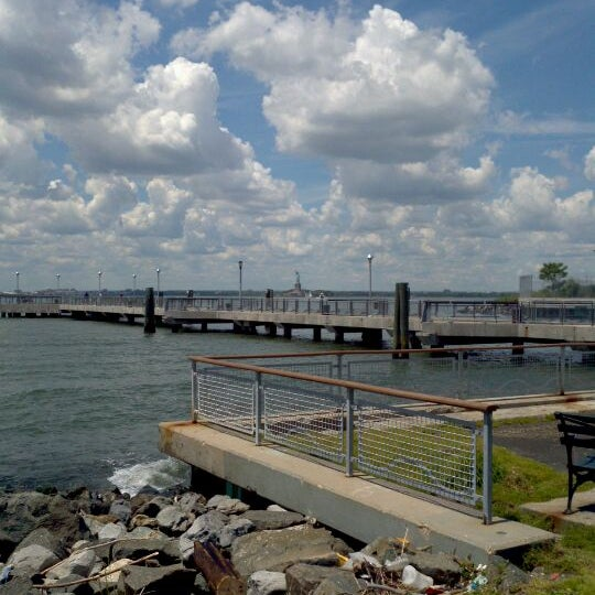 Photo taken at Louis Valentino Jr Park & Pier by George R. on 6/7/2012