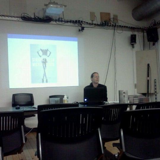 Photo taken at NYU ITP by lia b. on 4/27/2012
