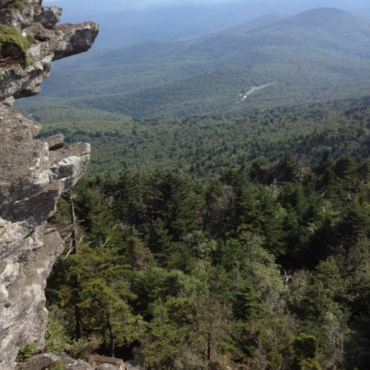 Photo taken at Grandfather Mountain by Christopher M. on 8/25/2012