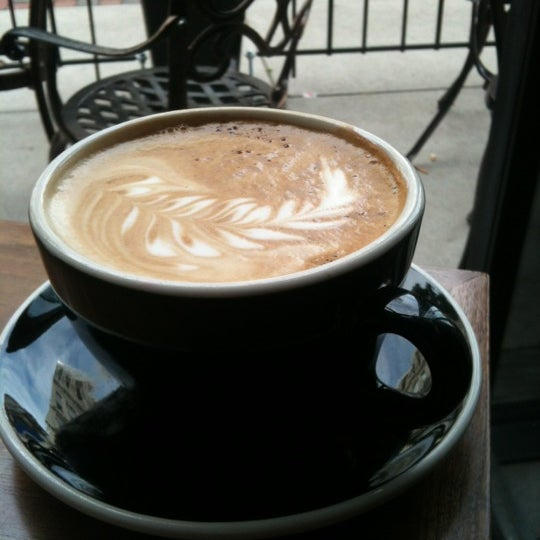 Photo taken at 1215 Wine Bar & Coffee Lab by Tom acito on 5/8/2012