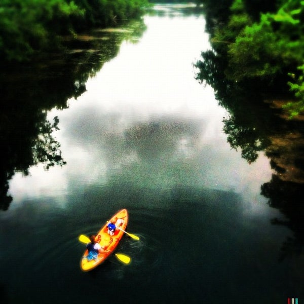 Photo taken at Lady Bird Lake Trail by Ilovetapatio on 6/12/2012