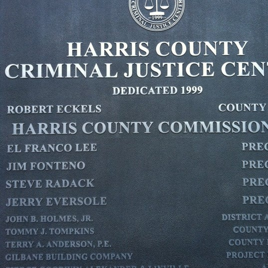 harris county offender