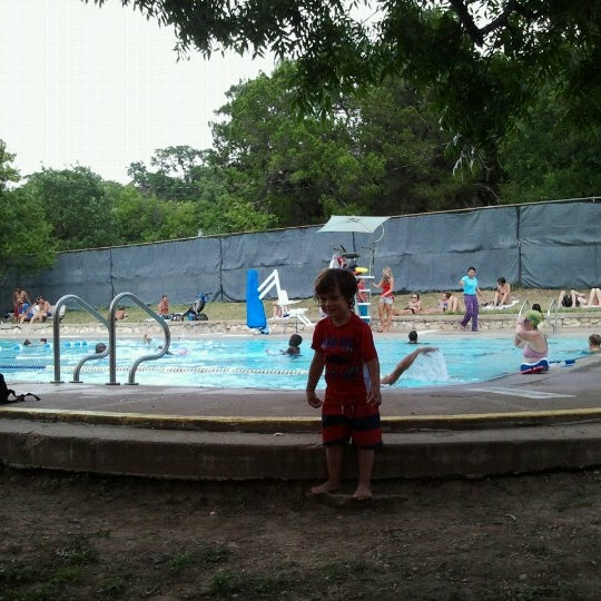 Photo taken at Big Stacy Pool by Melissa A. on 7/4/2012