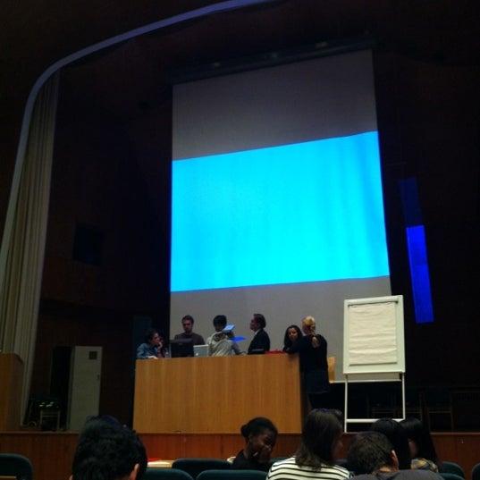 Photo taken at Kauppakorkeakoulu by Yosef Y. on 8/18/2012