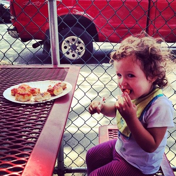 Photo taken at L&B Spumoni Gardens by Dave M. on 8/22/2012