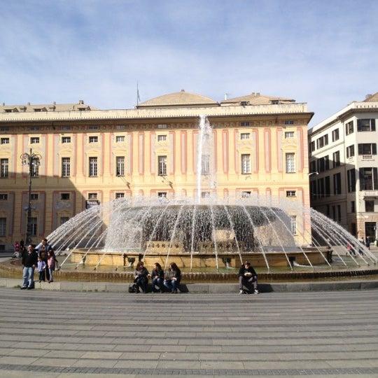 Foto scattata a Piazza de Ferrari da Federico F. il 3/12/2012