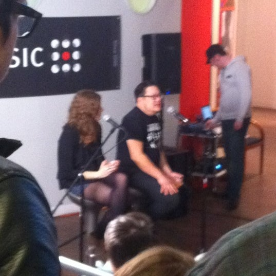 Photo taken at eMusic by Steve R. on 4/9/2012