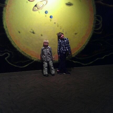 Photo taken at McAuliffe-Shepard Discovery Center by Mindy F. on 4/28/2012