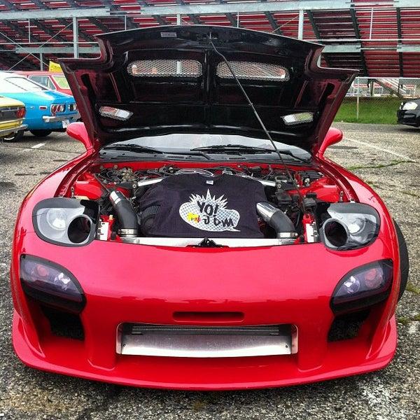 Photo taken at Atco Raceway by Mc Slick on 8/19/2012
