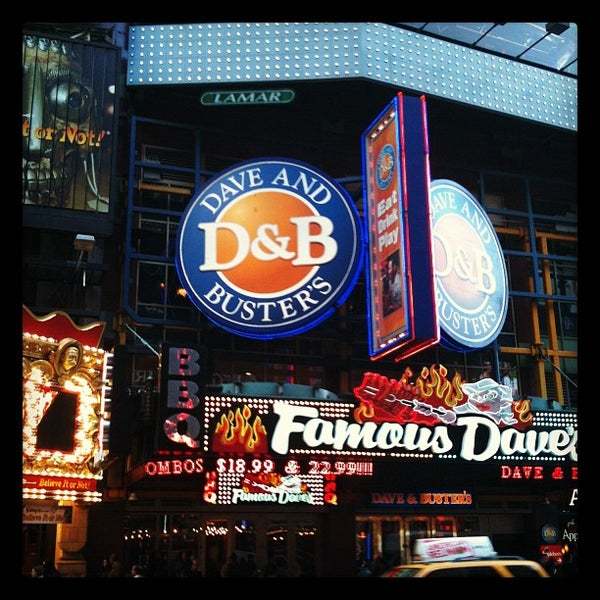 Photo taken at Dave & Buster's by Charis T. on 3/28/2012