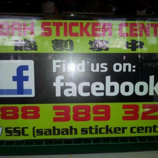 Sabah sticker centre 6 tips
