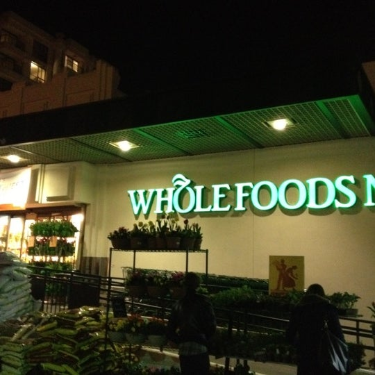 Photo taken at Whole Foods Market by Tetsuya W. on 3/6/2012