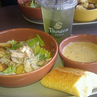 Photo taken at Panera Bread by Candice C. on 2/23/2012