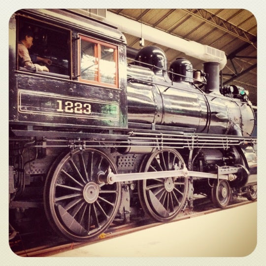 Photo taken at Railroad Museum of Pennsylvania by Laura G. on 2/21/2012