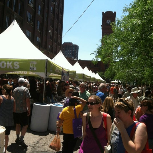 Photo taken at Printers Row Lit Fest by Don S. on 6/9/2012