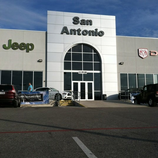 Photo Taken At San Antonio Dodge Chrysler Jeep RAM By Kirsten On 7/18/