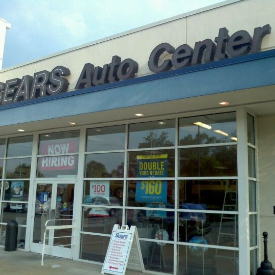 Sears Car Service Locations