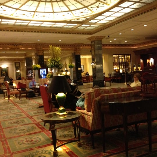 Photo taken at InterContinental New York Barclay by Insup H. on 2/22/2012