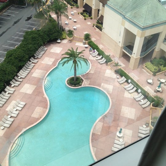 Photo taken at Rosen Plaza Hotel by Chadillac on 6/6/2012