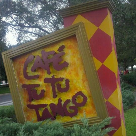 Photo taken at Café Tu Tu Tango by Wayne W. on 10/19/2011