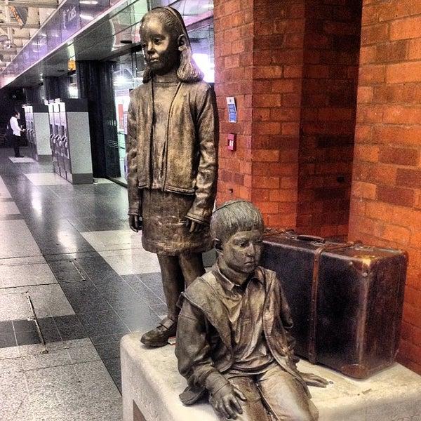 Photo taken at London Liverpool Street Railway Station (LST) by iDimka on 5/26/2012