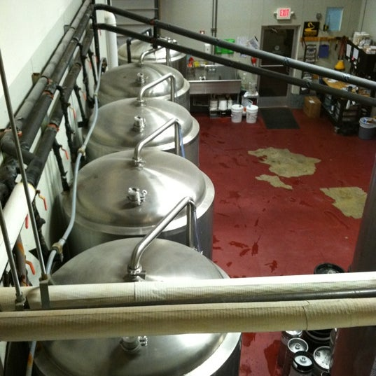Photo taken at Blackfoot River Brewing Company by TJ L. on 1/6/2012