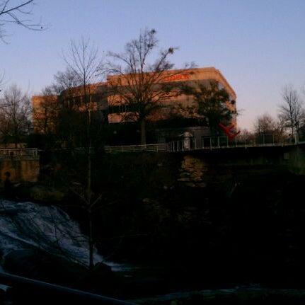Photo taken at Liberty Bridge by Emily C. on 12/30/2011