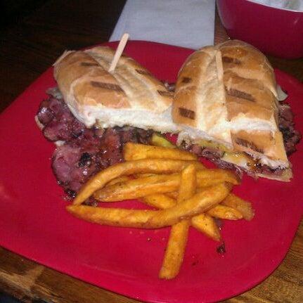 Photo taken at G Burger by David S. on 12/2/2011