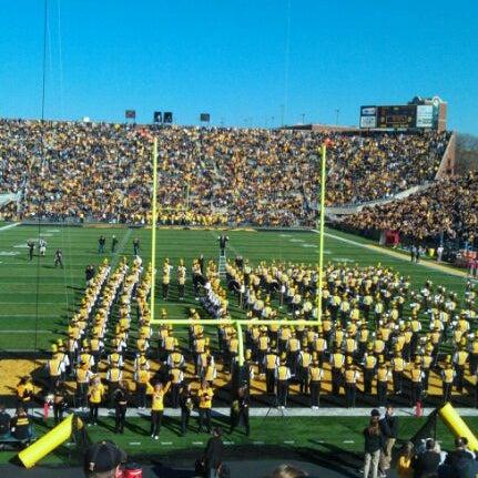 Photo taken at Kinnick Stadium by Angel L. on 10/22/2011