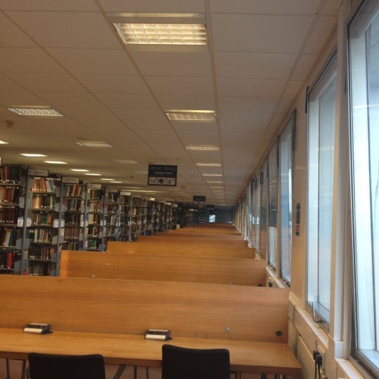 Photo taken at University of Warwick Library by ErJan A. on 6/14/2012