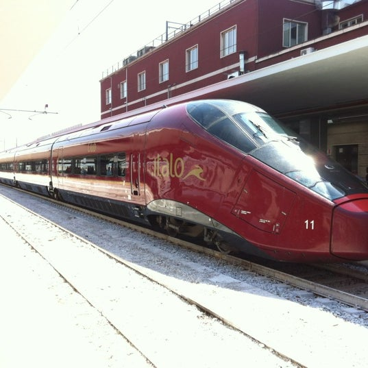 Photo taken at Napoli Centrale Railway Station (INP) by Half B. on 8/13/2012