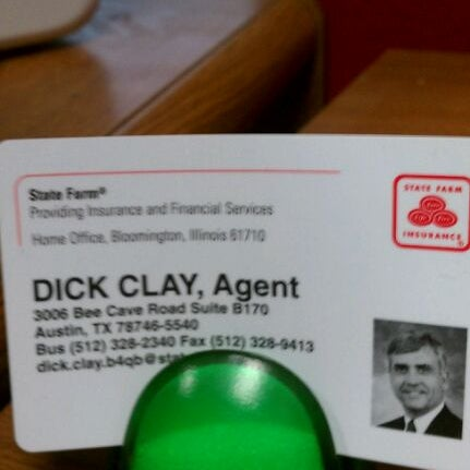 Dick clay state farm