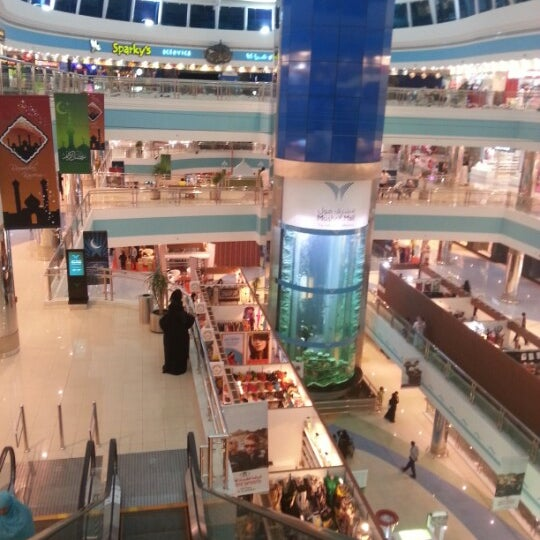 Photo taken at Mushrif Mall by Zaid S. on 8/5/2012